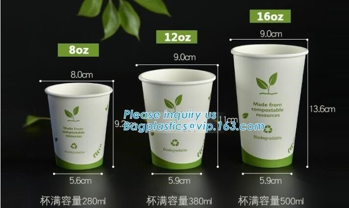 Color Plastic Lid For Pla Coffee Yogurt Paper Cup,Disposable 90mm SGS test report CPLA lid for coffee cups bagease pack