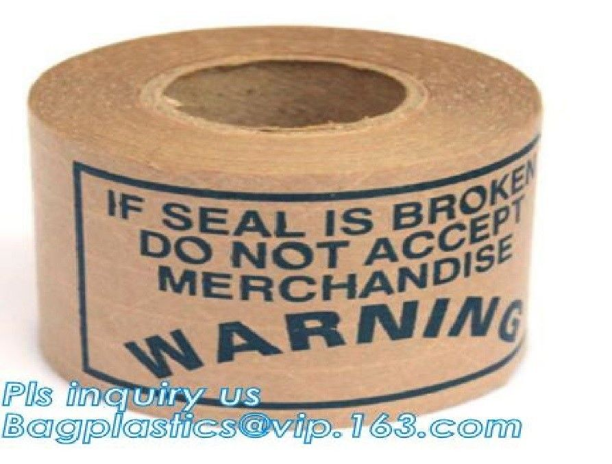 Fiber Reinforced Scotch Tape Label Gummed Kraft Paper Packing Reinforced
