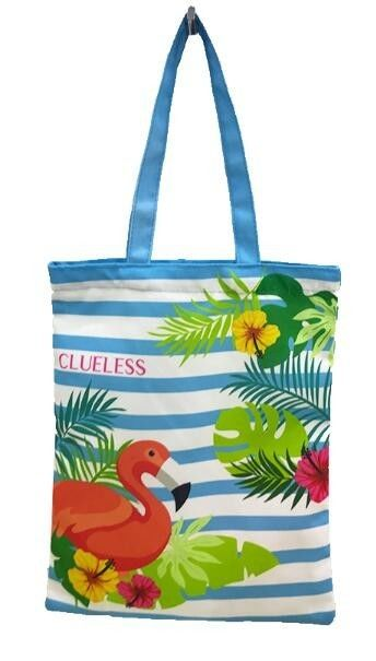 Cotton Tote Canvas Reusable Eco Bags Shopping Handle Large Recycled Beach Grocery Tote