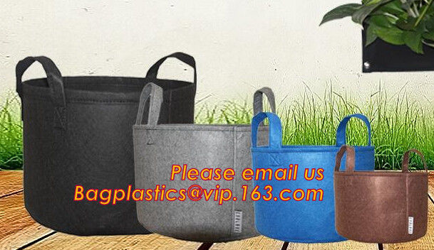 Eco Friendly Biodegradable Garden Bags Felt Wall Planter Felt Grow